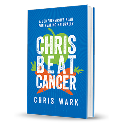 Chris Beat Cancer by Chris Wark book cover