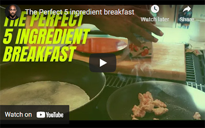 The Perfect 5 Ingredient Breakfast